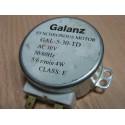 MOTOR MICROONDAS GALANZ GAL-5-30-TD 5/6R/MIN - 4W