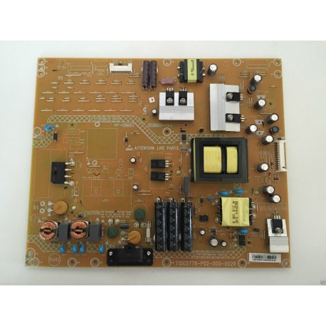 PHILIPS 46PFL310H/12 715G5778-P02-000-002R CR441XAS1 PLACA FUENTE